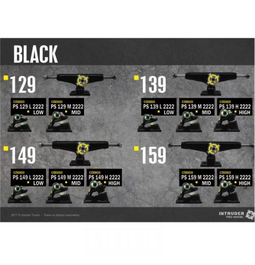Truck INTRUDER Black