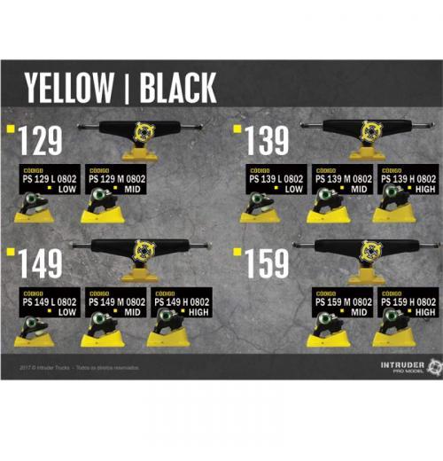 Truck INTRUDER yellow-Black